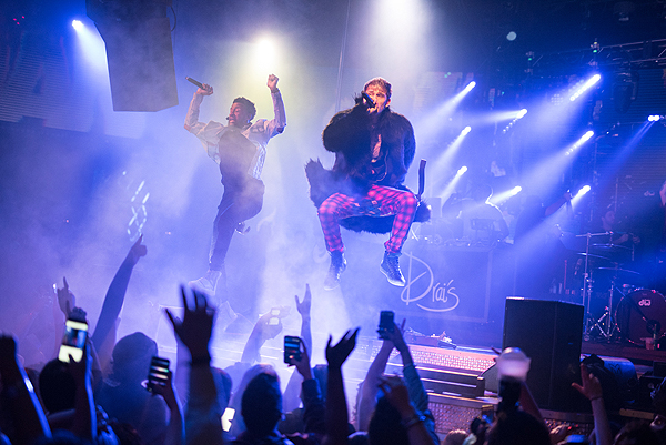 Machine Gun Kelly Launches Drais LIVE Residency at Drais Nightclub Las Vegas 1.22.17 Credit Mike Kirschbaum 9