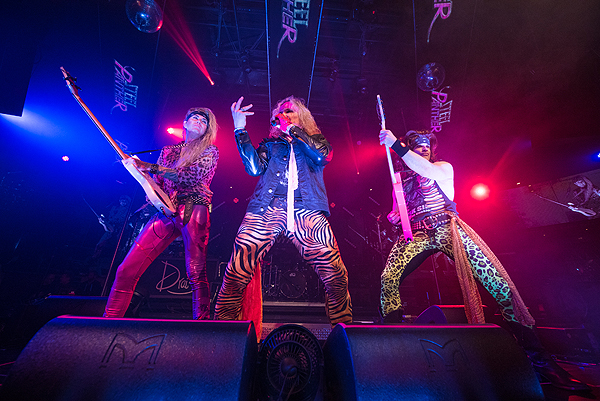 Steel Panther Makes Epic Return to Drais Nightclub at The Cromwell in Las Vegas 1.19.17 4
