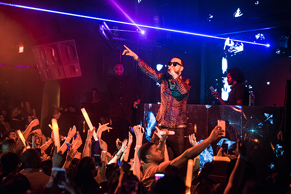 French Montana Performs at Marquee 2.4.17