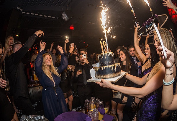 Sasha Pieterse at Marquee for 21st Birthday