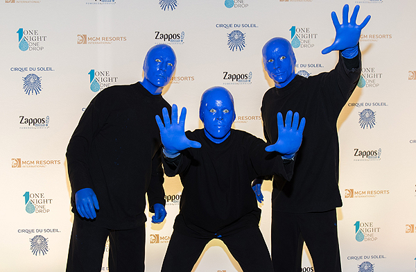 Blue Man Group at One Night for One Drop 2017