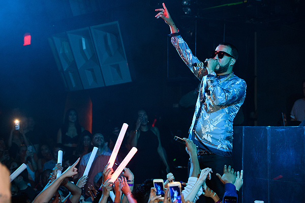 French Montana Performs at Marquee 3.25.17