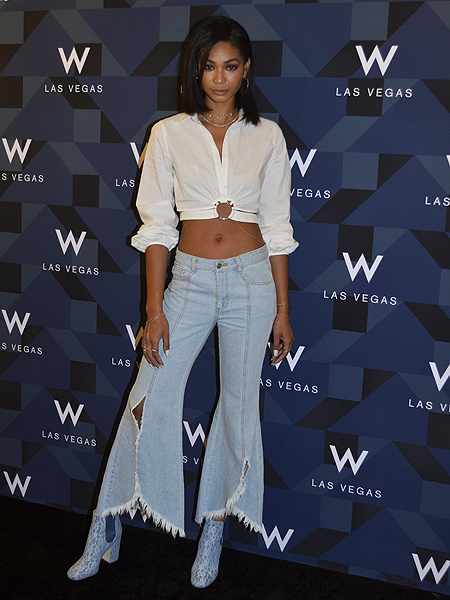 Chanel Iman W Grand Opening 3601