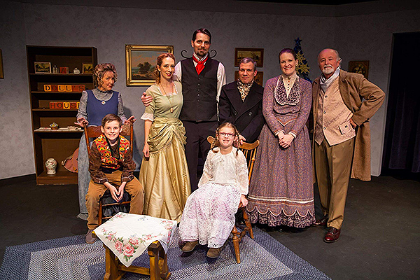 "Las Vegas Little Theatre's ""A Doll's House"" cast - Photo courtesy of Las Vegas Little Theatre"