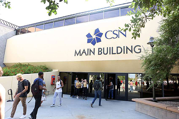 The College of Southern Nevada - Photo courtesy of CSN