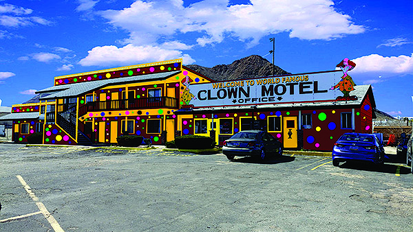 Clown Motel - Photo courtesy of the Clown Motel