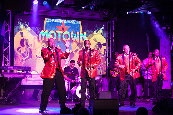 Part of the Motown Extreme Review on stage - Photo credit: Audrey Dempsey, Infinity Photo